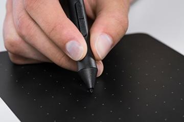 Wacom CTL-490DB-S Intuos Draw Stift-Tablett S (inklusive Softwaredownload von ArtRage Lite) blau -